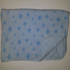 Carter's Blue Stars Security Blanket Lovey AS IS